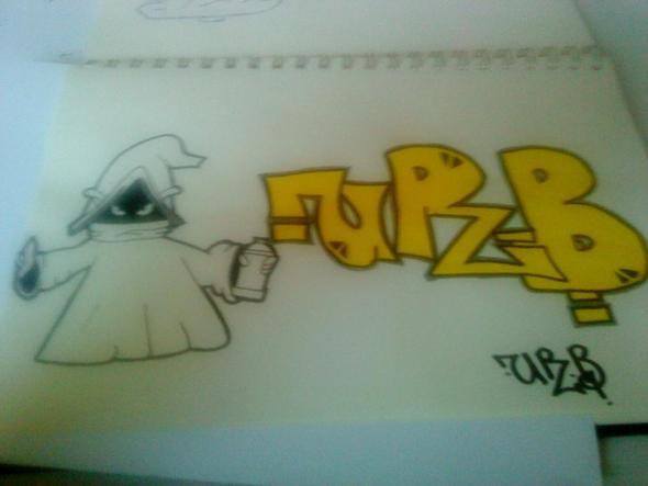 meine graffitis - (Kunst, Graffiti)