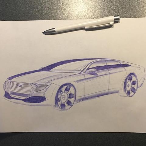 Bild 1 von 1  - (Auto, Kunst, KFZ)