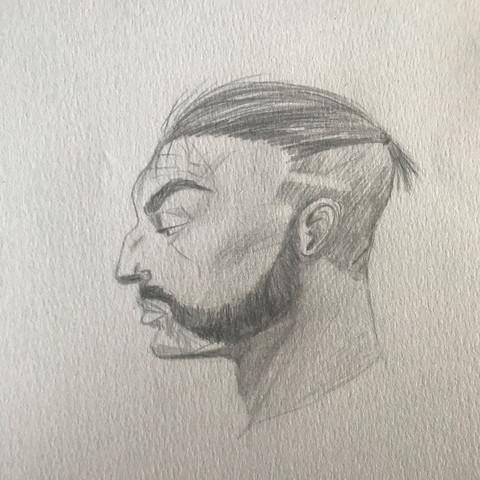 Wikinger  - (Kunst, zeichnen, Zeichnung)