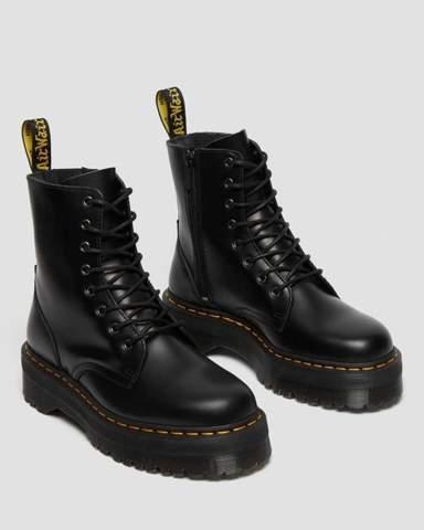Wie findet ihr Plateau-Stiefel bei Herren? Sowas wie die Dr. Martens Jadon?