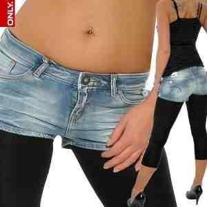 wie findet ihr wenn man hot pants mit leggins kombiniert?
