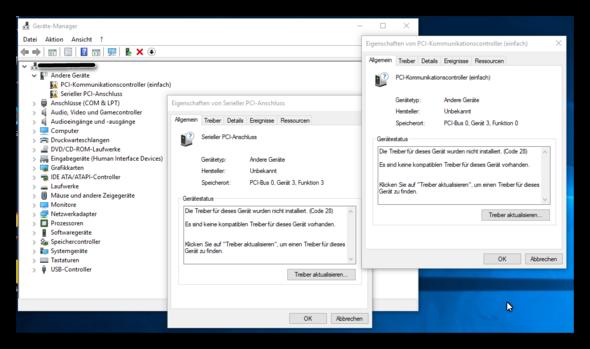 Wie findet man Gerätetreiber für ein nicht vorhandene Betriebssystem?