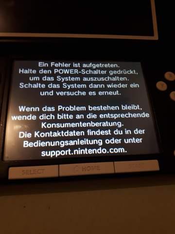 Wie fixe ich meinen 3DS?