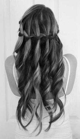 Flechtfrisur - (Haare, Frisur, Style)
