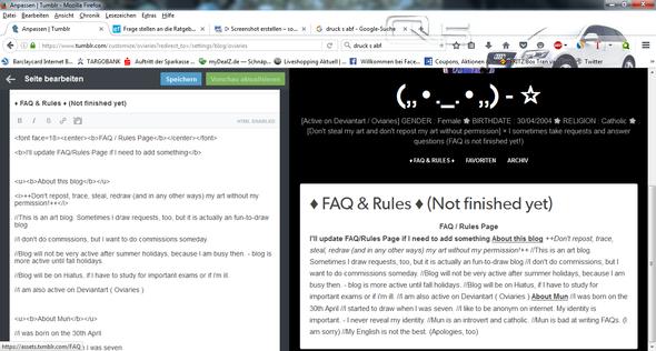 Wie Füge Ich Absätze In Ein Html Format Tumblr Ein