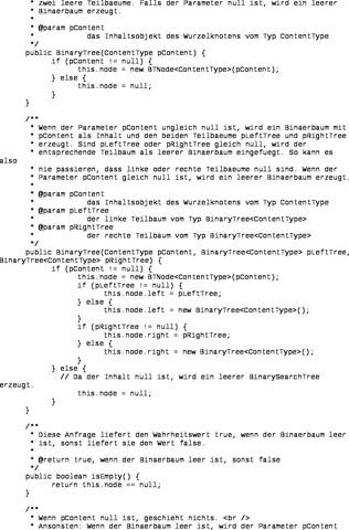 Binärer Baum.2 - (Computer, Programm, programmieren)