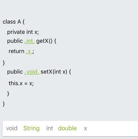 Wie funktionieren Getters & Setters & this in java?