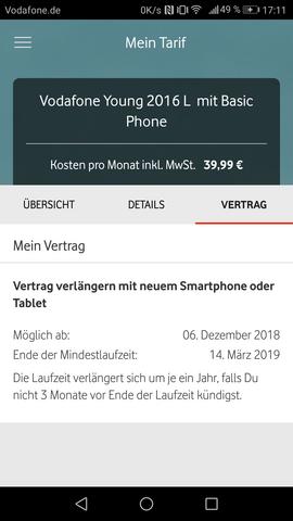 Wie Funktioniert Das Mit Der Vertragsverlängerung Bei Vodafone