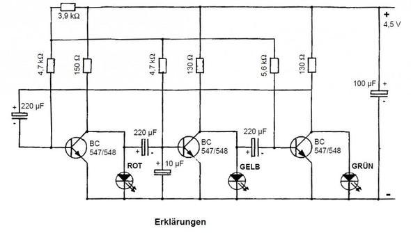 Wie funktioniert die Ampelschaltung? (Technik, Elektronik, Ampel)