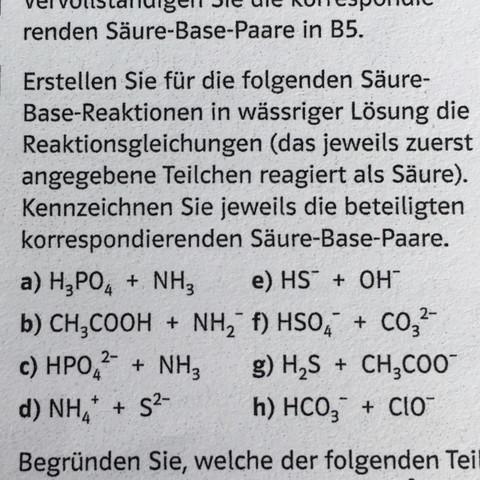 Wie funktioniert die Säure Base Reaktion? (Chemie, Bronsted)