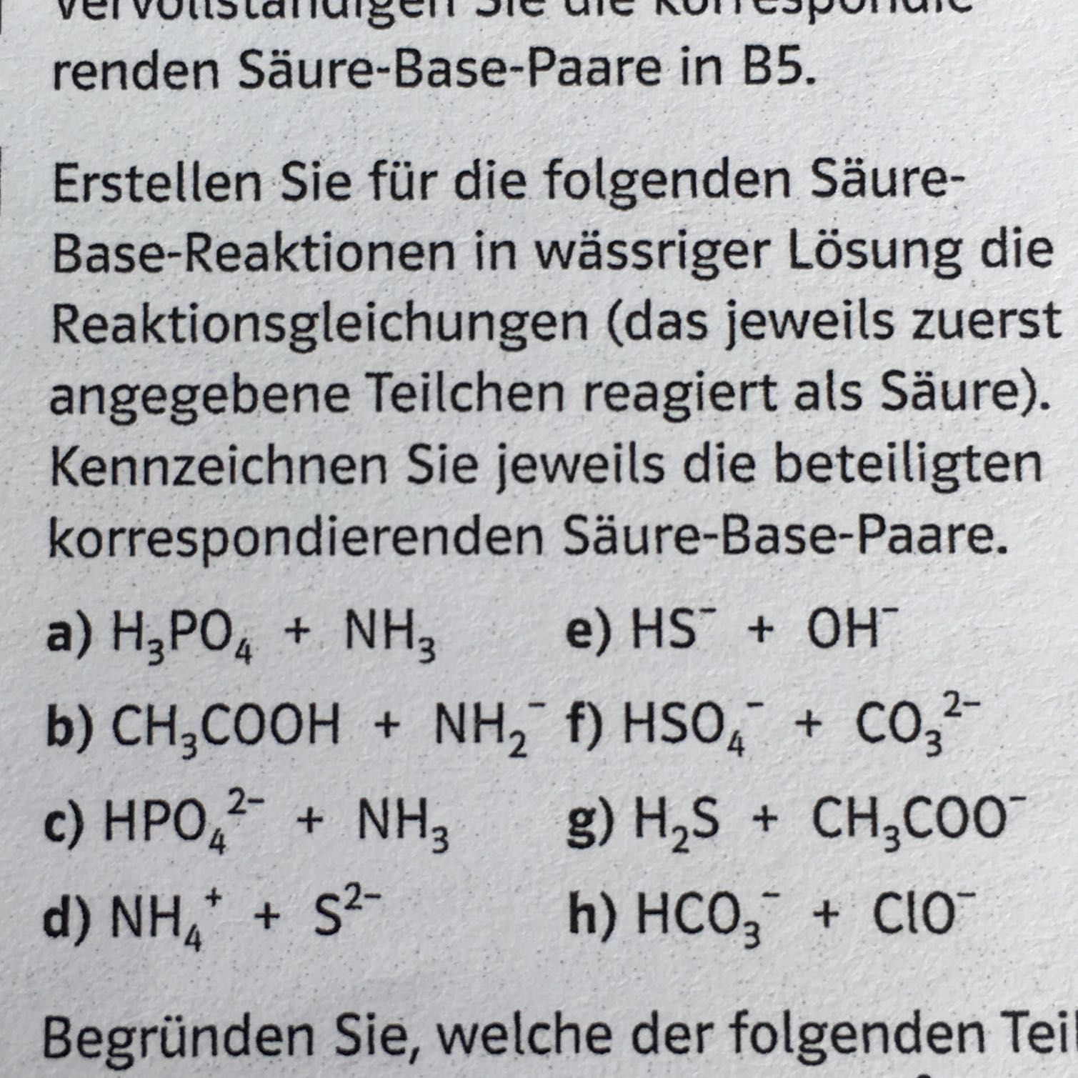 Wie funktioniert die Säure Base Reaktion? (Chemie, Bronsted)