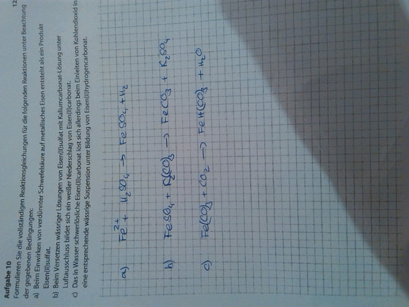Aufgabe - (Physik, Chemie, Wissenschaft)