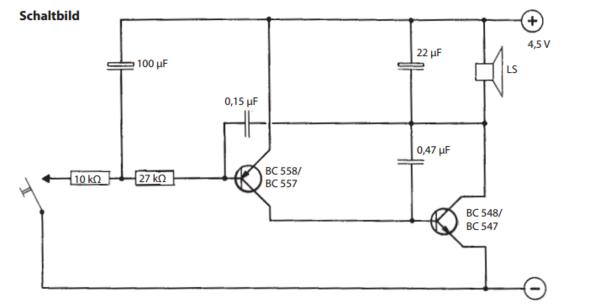 Sirenen Schaltung von Opitec - (Technik, Elektronik, Elektrik)