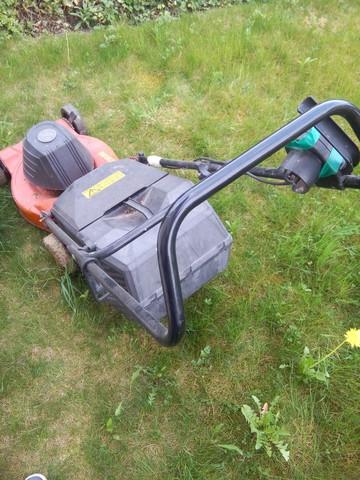 Wie funktioniert dieser Elektro-Rasenmäher (Castel Garden NG 460)?