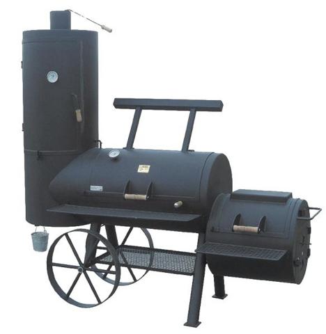 Wie funktioniert ein Smoker-Grill?