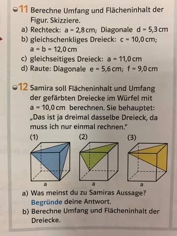 Wie funktioniert Flächeninhalt & Umfang beim Satz des Pythagoras?