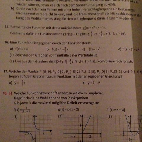 Wie geht die Aufgabe 17 und was muss ich da machen? - (Mathe, Gleichungen, Linear)
