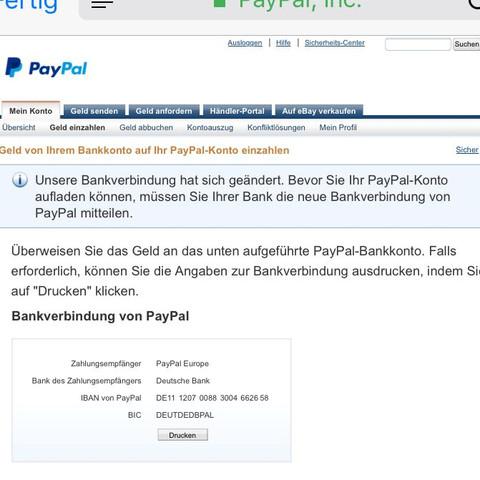 Wie Kann Man Von Paypal Auf Bankkonto Гјberweisen