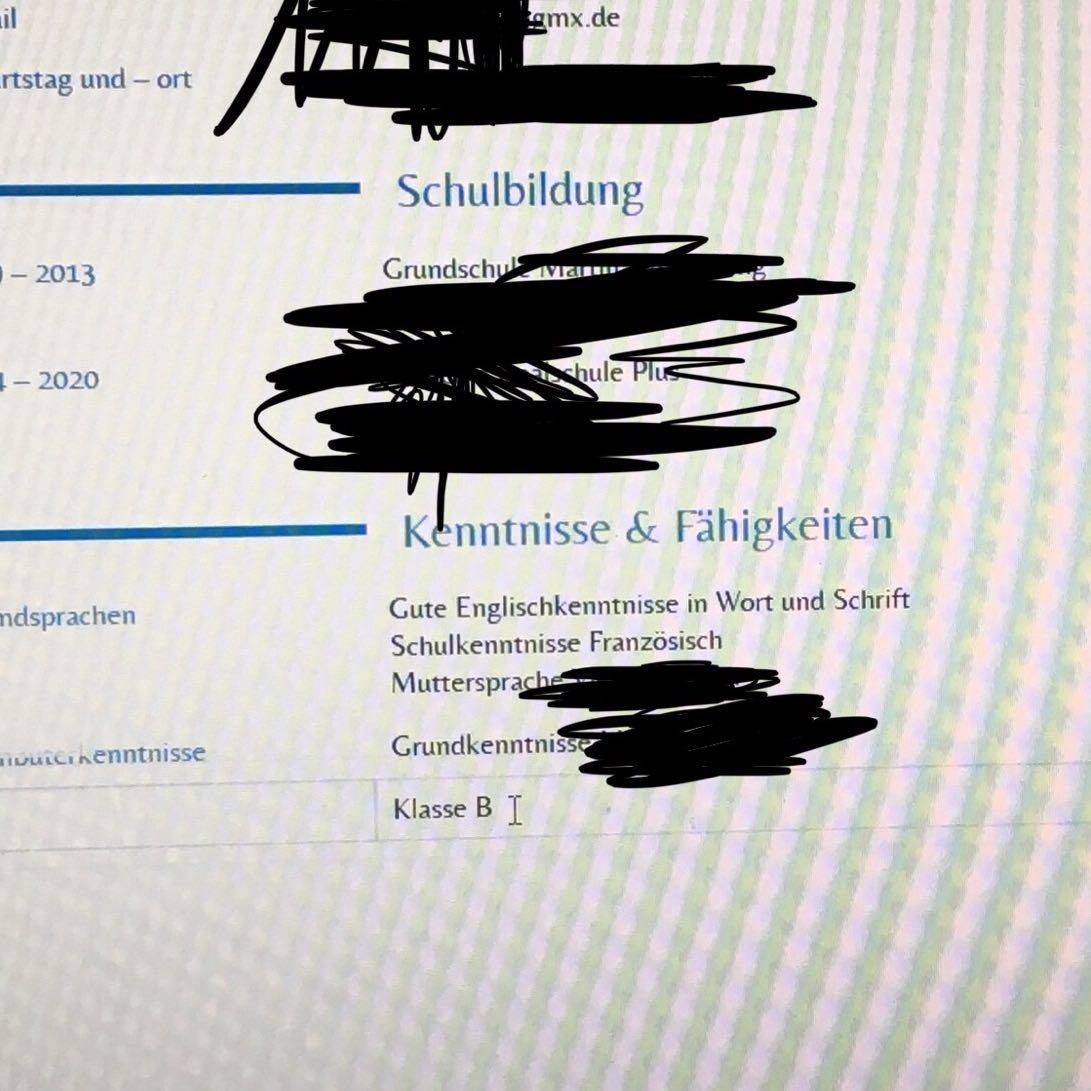 Schön Musterwiederaufnahmeformat Für Lehrberuf Bilder ...