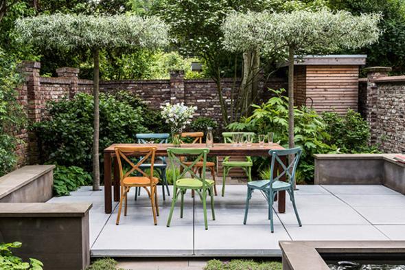 Wie gefällt euch dieser Garten, denkt ihr es ist schwerer als es aussieht sich den Garten so einzurichten?