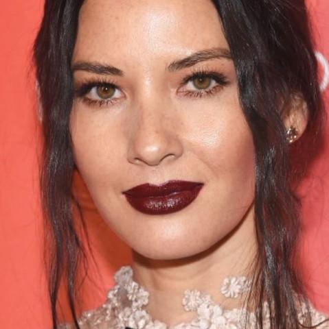 Burgundy Lipstick - (Farbe, Lippe)