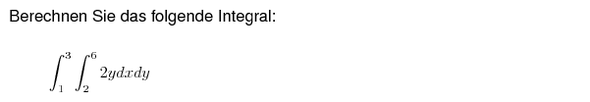Aufgabe - (integralrechnung, Bestimmtes Integral)