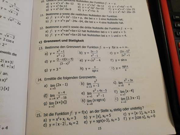 - (Schule, Mathematik, Gymnasium)