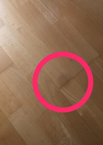 Wie geht der schwarze punkt aus meiner iphone camera?