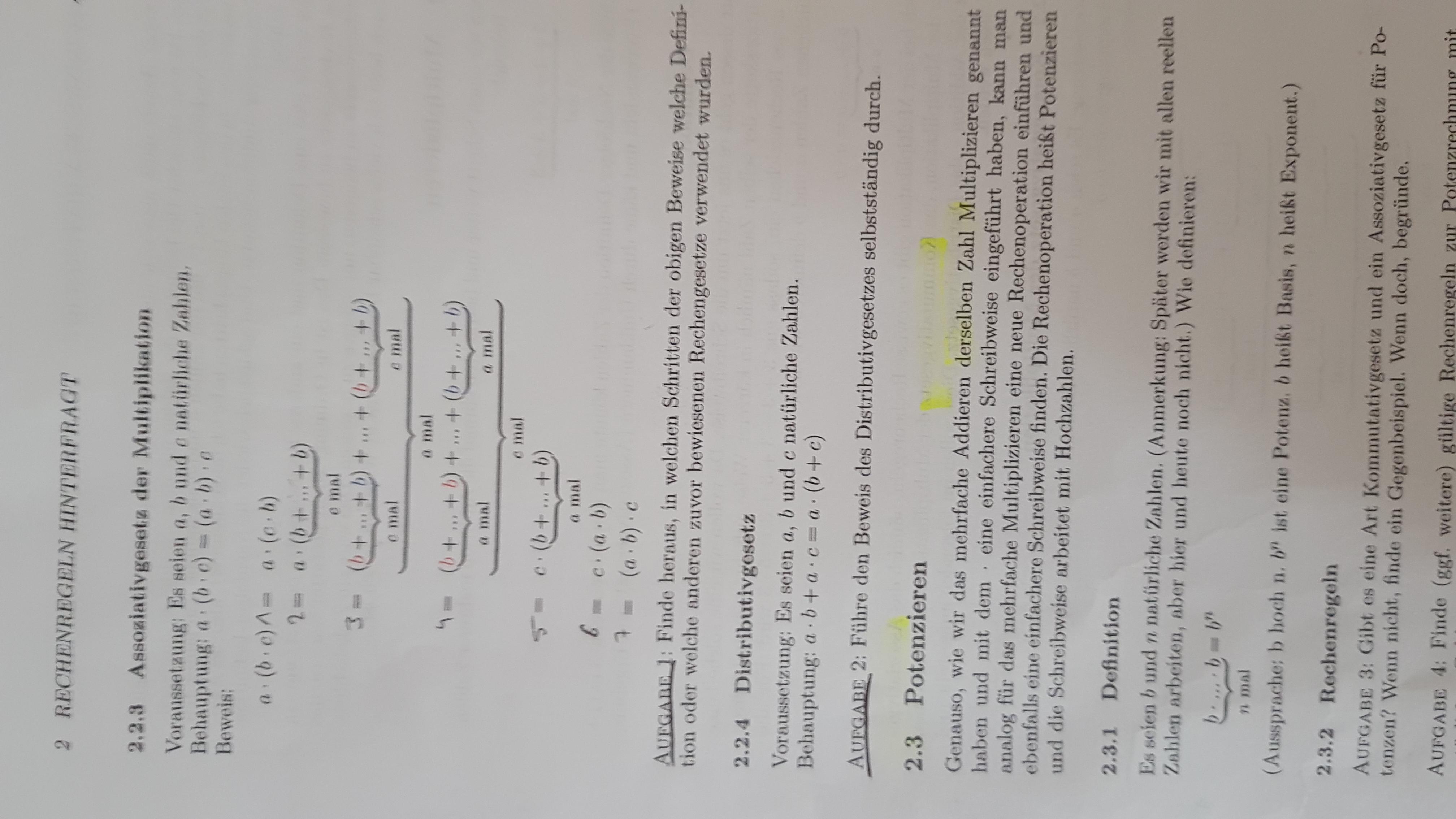 Wie geht die Aufgabe 2? (Schule, Mathe, Mathematik)