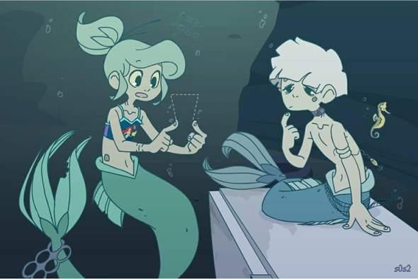 Wie gendert man den Begriff Meerjungfrau 🧜🏼♂️🧜🏼♀️🧜🏼?