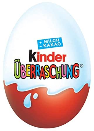 Wie gesund/ungesund ist die Schokolade von und wie pädagogisch wertvoll sind die Spielzeuge in Kinder-Eiern für kleine Kinder?