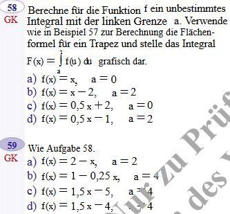 Mathe-Beispiele - (Mathe, Mathematik, Funktion)
