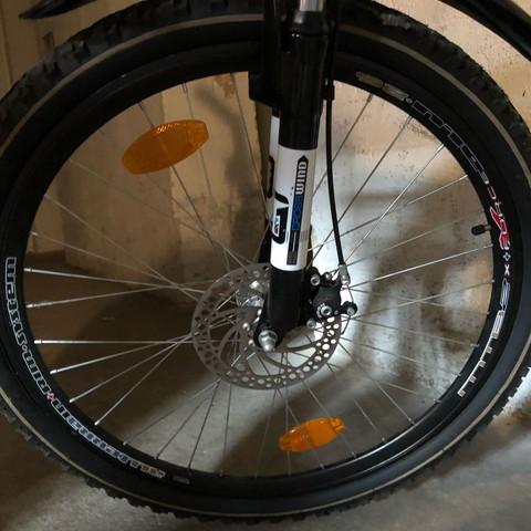 Wie groß ist der Fahrradreifen?