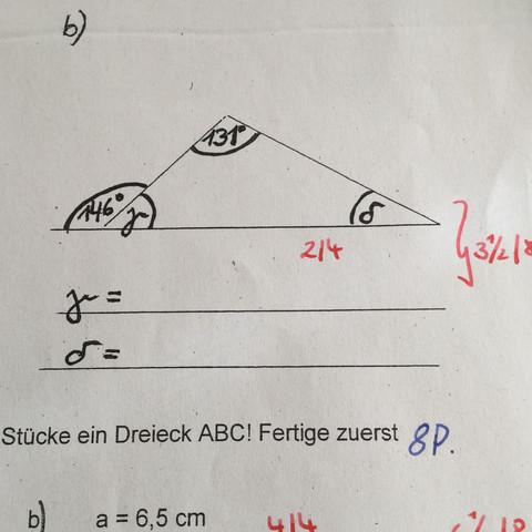 Wie groß ist Delta - (Mathe, Bilder, Geometrie)