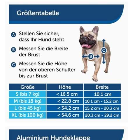 Wie groß ist die Höhe und Breite eines Schäferhundes?