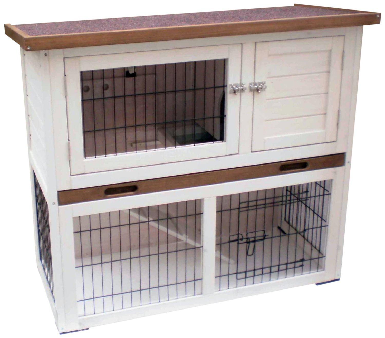 wie gro muss ein kaninchenstall sein wenn die tiere viel platz zum auslaufen haben kaninchen. Black Bedroom Furniture Sets. Home Design Ideas