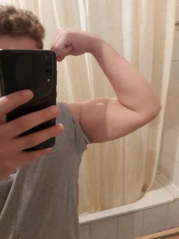 Wie groß sollte mein OberarmUmfang sein?