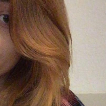 Das ist meine jetzige Haarfarbe. - (Haare, Haarfarbe, färben)