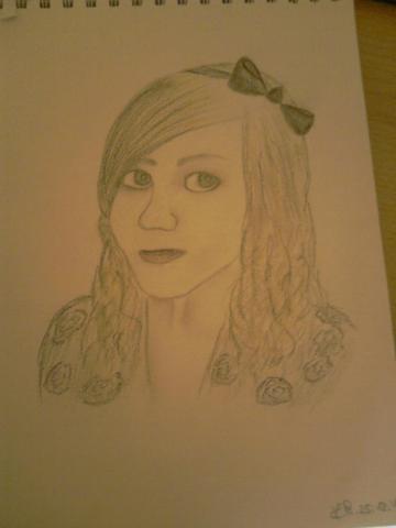 Zeichnung meiner besten Freundin - (Bilder, Kunst, zeichnen)