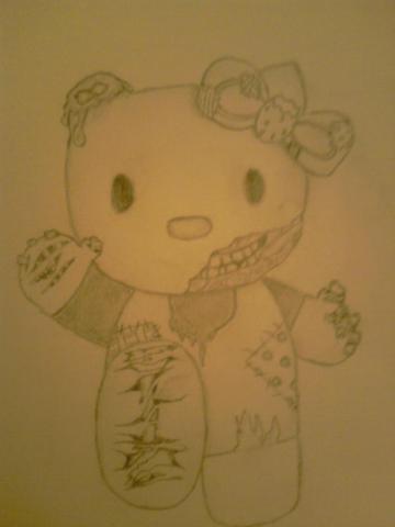 Hello Kitty-gefreestyled :D - (Bilder, Kunst, zeichnen)