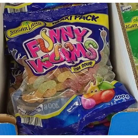 Wie gut schmecken die Funny Worms von LIDL?