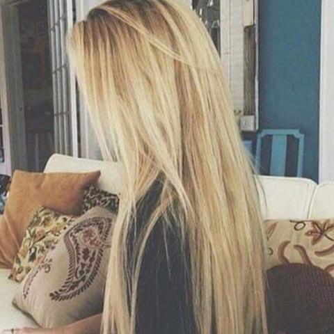 Wie Haare Dunkler Bekommenblond Strähnen Mittelblond