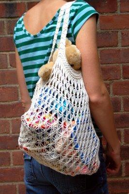 Tasche - (kreativ, selber machen, stricken)