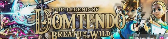 Wie hat Domtendo (Youtuber) es geschafft das im Kanal Banner The Legend of Domtendo breath of the wild steht ?
