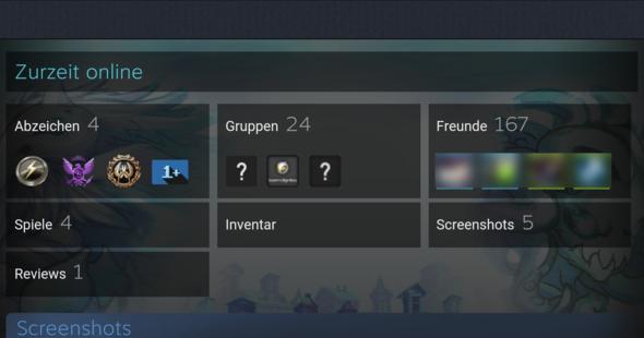 hier der Screenshot - (Steam, background)