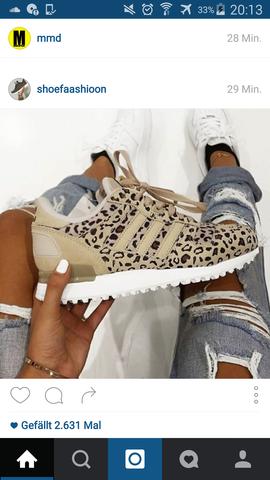 Das sind die - (Schuhe, adidas)