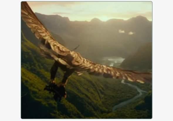 """Wie heißen die Adler aus """"Der Hobbit"""" / """"Der Herr der Ringe""""?"""