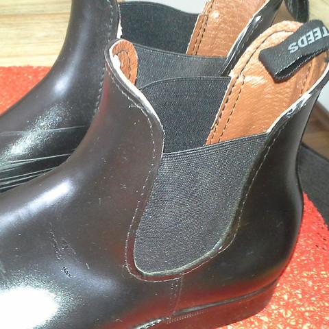 Bild von Seite  - (Schuhe, schwarz, Leder)