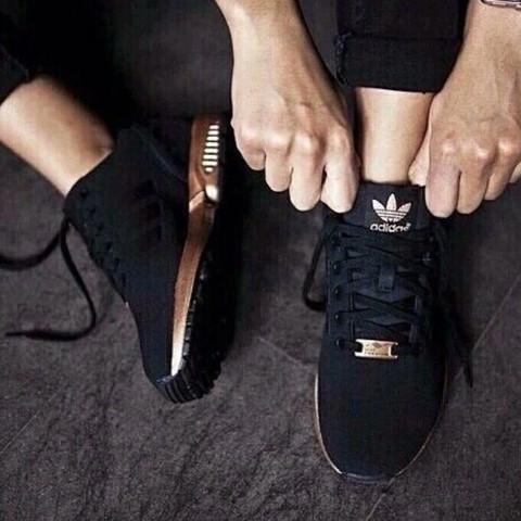 adidas torsion schwarz bronze
