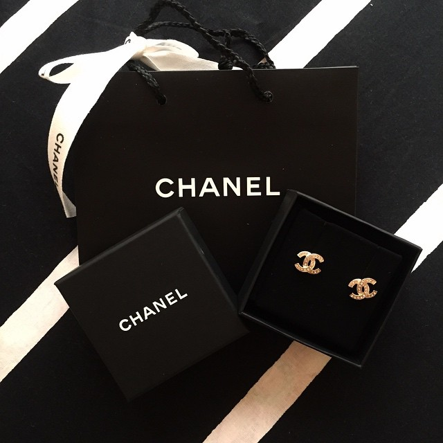 Chanel ohrringe cc kaufen